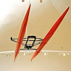 Bucky fullers fibreglass rowing needles