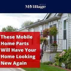 Find great ways to keep your mobile home looking new. These affordable, easy-to-install mobile home parts provide enhancements that make a big difference.