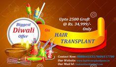 Get La Densitae Biggest Diwali Offer on Hair Transplant in Pune Hair Transplant Cost, Hair Regrowth, Pune, Fall Hair, Diwali, Hair Loss, Clinic, Cool Hairstyles, Hair Falling Out