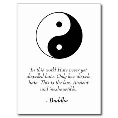 buddha quotes on love | Famous Buddha Quotes - Love and Hate Post Card from Zazzle.com