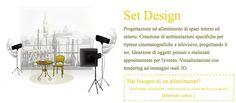 #Set #Design - Creiamo #allestimenti degli spazi su misura per l'evento che si vuole andare a realizzare. Siamo a fianco al cliente che ci racconta il suo ambiente, la sua idea, il suo obiettivo, il suo sogno e noi lo realizziamo: spazi cinematografici, eventi #aziendali speciali, #wedding, #party... Creiamo le #ambientazioni anche con #oggetti #progettati e costruiti su misura per l'evento che si vuole realizzare.   Chiedi info…