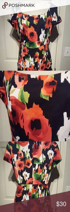 Donna Ricco Wiggle dress pockets! AMAZING watercolor flower print dress by Donna Ricco. This is close fitting to the body - and it HAS POCKETS!!! Perfect with boots, booties or heels! Bundle and save - as always, please feel free to contact me with questions. No signs of wear and is in excellent condition. fully lined. Donna Ricco Dresses