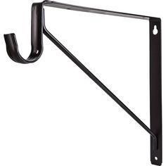 Shelf Wall Bracket Closet Rod Heavy Duty Bracket 1EA Rod Bracket