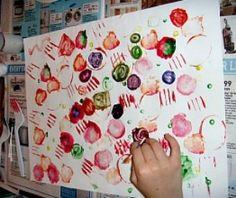 What's Around the House Painting Craft | Macaroni Kid Thornton-Northglenn-Brighton-E. Westminster