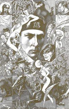 Мастер и Маргарита - Иллюстрации - Павел Оринянский