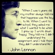 When I was 5 years old... #JohnLennon