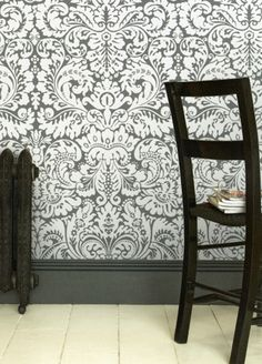 Silvergate wallpaper from Farrow and Ball