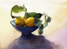 Helen Ström: Watercolor paintings