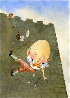 Humpty dumpty had a great fall ......