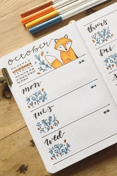 The best bullet journal weekly spread ideas and inspiration for October Need some sweater weather inspiration for your bullet journal? Check out these festive October weekly spread ideas to make your theme spooky! Bullet Journal Lettering Ideas, Bullet Journal Notebook, Bullet Journal School, Bullet Journal Inspo, Bullet Journal Layout, Bullet Journal Ideas Pages, Book Journal, Bullet Journal October Theme, Bullet Journal Weekly Spread Ideas