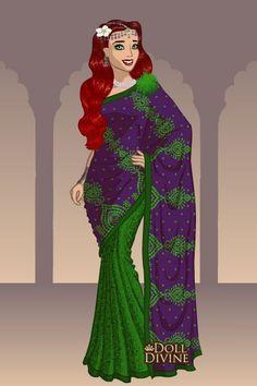 Ariel Dress Up Dolls | Doll Divine - Dress Up Games. Ariel Sari