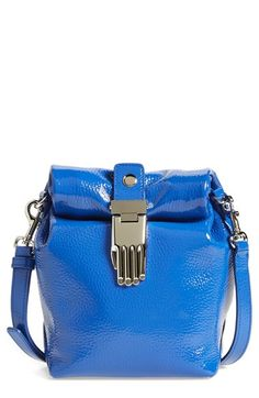 d344649304 Opening Ceremony  Athena  Patent Leather Crossbody Bag available at   Nordstrom Blue Bags