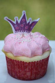 Brandy's Baking Princess Cupcake