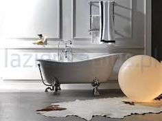 Retro 1051 Glass-Resin Bathtub, White with Metal Feet, by WS Bath Collections. The Retro 1051 White is from the Retro Collection of Classical Italian Made Ceramic Bathroom Sinks. Modern Bathroom Sink, Modern Bathtub, Natural Bathroom, Small Bathroom, Jacuzzi Bathtub, Luxury Bathtub, Clawfoot Bathtub, Bath Tube, Contemporary Bathtubs