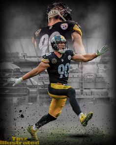 Pittsburgh Steelers Wallpaper, Pittsburgh Steelers Players, Pittsburgh Sports, Dallas Cowboys, Football Design, Nfl Football, Football Wall, Pitsburgh Steelers, Steelers Stuff