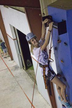 Climbing wall! Camp Victory (Alabama) campvictoryal.org summer camp