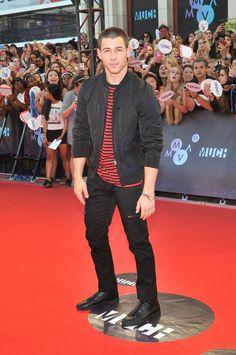 Nick Jonas bei den Much Music Video Awards