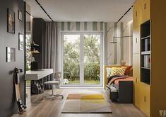 Modern apartment in Berlin - Dezign Ark (Beta) Apartment, Bedroom Inspirations, Bedroom Design, Kids Bedroom Inspiration, Modern Apartment, Kids Bedroom Designs, Interior Design, Home Decor, Contemporary Dining Room Design