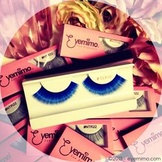 Good morning! #picoftheday of #eyelahes is the Blue Lash for #fun or upcoming #halloween