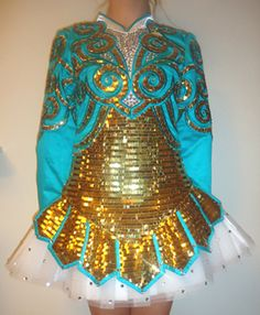 Elevation Irish Dance Solo Dress Costume
