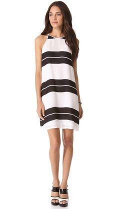 love the stripes on this dress