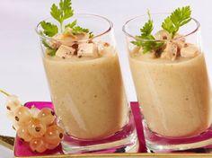 Découvrez la recette Velouté de cèpes au foie gras sur cuisineactuelle.fr.