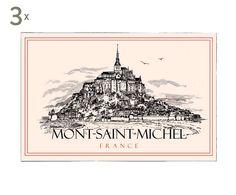 3 Torchons Mont Saint Michel, Coton - 72*48 | Westwing Home & Living