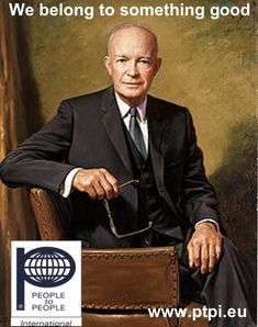 official_Presidential_portrait/ President Dwight D. Eisenhower/ January 20 1953 – Dwight D. Eisenhower succeeds Harry S. Truman as the President of the United States. List Of Presidents, Black Presidents, American Presidents, American History, Dwight Eisenhower, George Clooney, Official Presidential Portraits, Presidential Trivia, Presidential History
