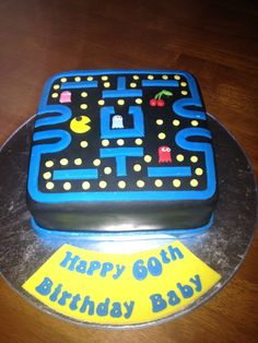 Pac Man Cake idea for Bradley