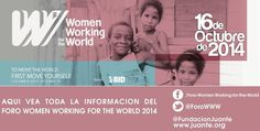 16 de Octubre gran compromiso. #WomenWorkingForTheWorld