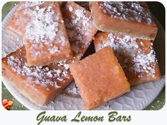 Try this sweet and tart Guava Lemon Bars recipe. Find more delicious local style dessert recipes here.