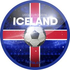 UEFA Euro 2016!  Iceland UEFA Euro 2016 sticker unlocked via #Telfie