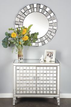 Massimo Mirrored Chest by Statements by J on @HauteLook