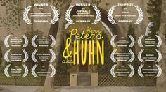 Short Film: Herr Peters und das Huhn (Mr. Peters and the Chicken) German with choice of no subtitles or subtitles in English or Spanish, select CC before play.