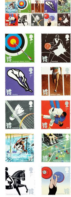 Stamp Design for the 2012 Olympics