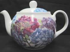 FINE BONE CHINA. MADE IN ENGLAND BY ROY KIRKHAM. NEW 2013 COPYRIGHTED DESIGNS. 6 CUP APPROX 32 OZ