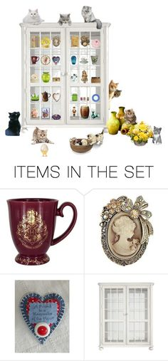 """""""What's Happening?"""" by patchworkcrafters ❤ liked on Polyvore featuring art"""