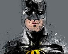 Michael Keaton Batman, Otaku, Identity, Digital Art, Nerd, Behance, Profile, Superhero, Fine Art