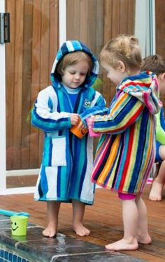 It is really tricky to get little ones back into clothes after swimming lessons, so we've developed the MooMoo Beach gown! Beach Gowns, Kids Gown, Swim Lessons, Kids Clothing, Little Ones, South Africa, Baby Kids, Kids Outfits, Aqua