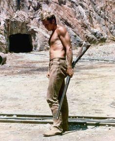 """Steve McQueen en """"Nevada Smith"""", 1966"""