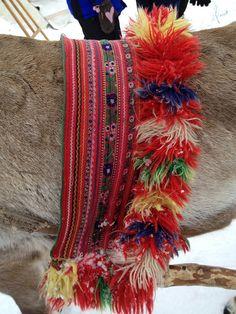 close up of reindeer harness by professorella13, via Flickr