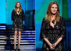 Estilo das indicadas ao Oscar: entre as coadjuvantes, a veterana Julia Roberts foge dos looks convencionais | Chic - Gloria Kalil: Moda, Bel...