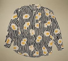 Vintage Moschino Fried Egg Shirt