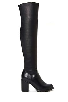 Naomi Thigh High Boot - Shoes