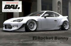 Frs/Brz rocket bunny widebody kit. http://www.greddy.com/products/aerodynamics/rocketbunny/