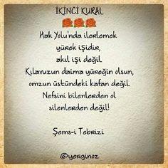 Şems-i Tebrizi Islamic Quotes, Ramadan, Slogan, Writer, Prayers, Cards Against Humanity, Wisdom, Sayings, Life