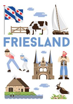 Friesland is is a province in the northwest of the Netherlands.