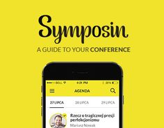 """Check out new work on my @Behance portfolio: """"Symposin. A guide to your conference"""" http://on.be.net/1JxHWRx"""