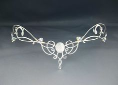Shannon Bridal Circlet - all brides favorite headpiece! []