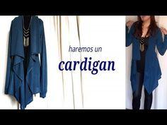 CARDIGAN SUPER FACIL DE HACER . - YouTube